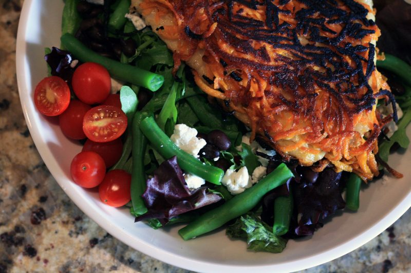 My life as a mrs sweet potato crusted fish with for Potato crusted fish