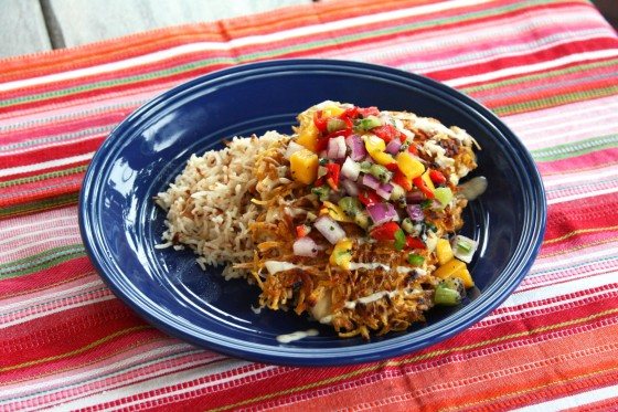 Yes, you heard right – Coconut and Plantain Crusted fish! Oh. my ...