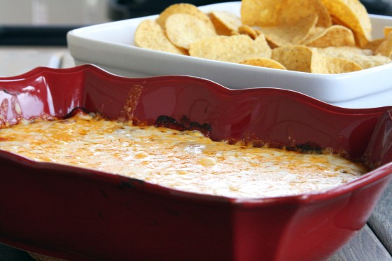 Easy Cheesy Hot Bean Dip | My Life as a Mrs