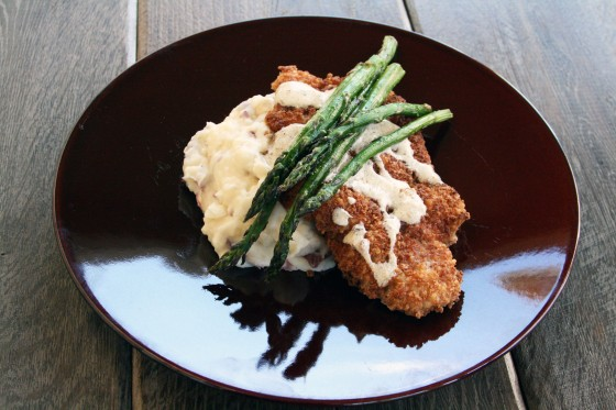 Chicken with parmesan sauce recipe