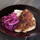pork-schnitzel-and-apple-cider-braised-cabbage