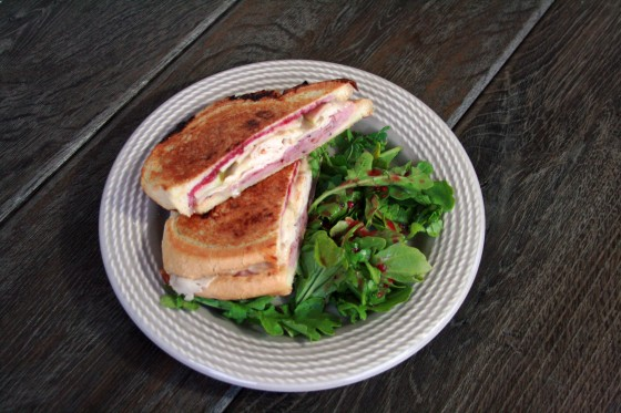 My Life as a Mrs. » Panini with Brie, Apples, and Raspberry Preserves