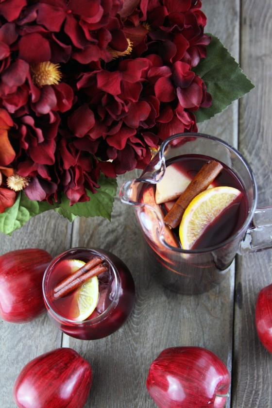 For a perfect Thanksgiving...5 Fall Sangria Recipes - Flavor Infusion