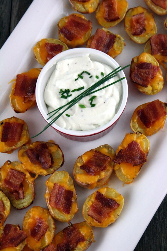 have always been a fan of potato skins since the day that T.G.I ...