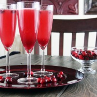 Cranberry-Pomegranate-Spritzers