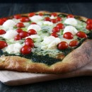 Pesto-Ricotta-and-Cherry-Tomato-Pizza