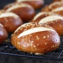 Salted Pretzel Rolls | My Life as a Mrs