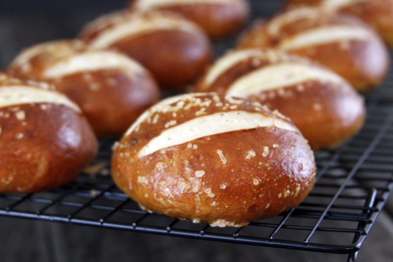 My Life as a Mrs. » Salted Pretzel Rolls