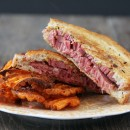 corned-beef-and-swiss-hot-panini-on-rye