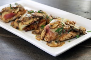Prosciutto-Fontina-Chicken-with-Lemon-Mushroom-Sauce