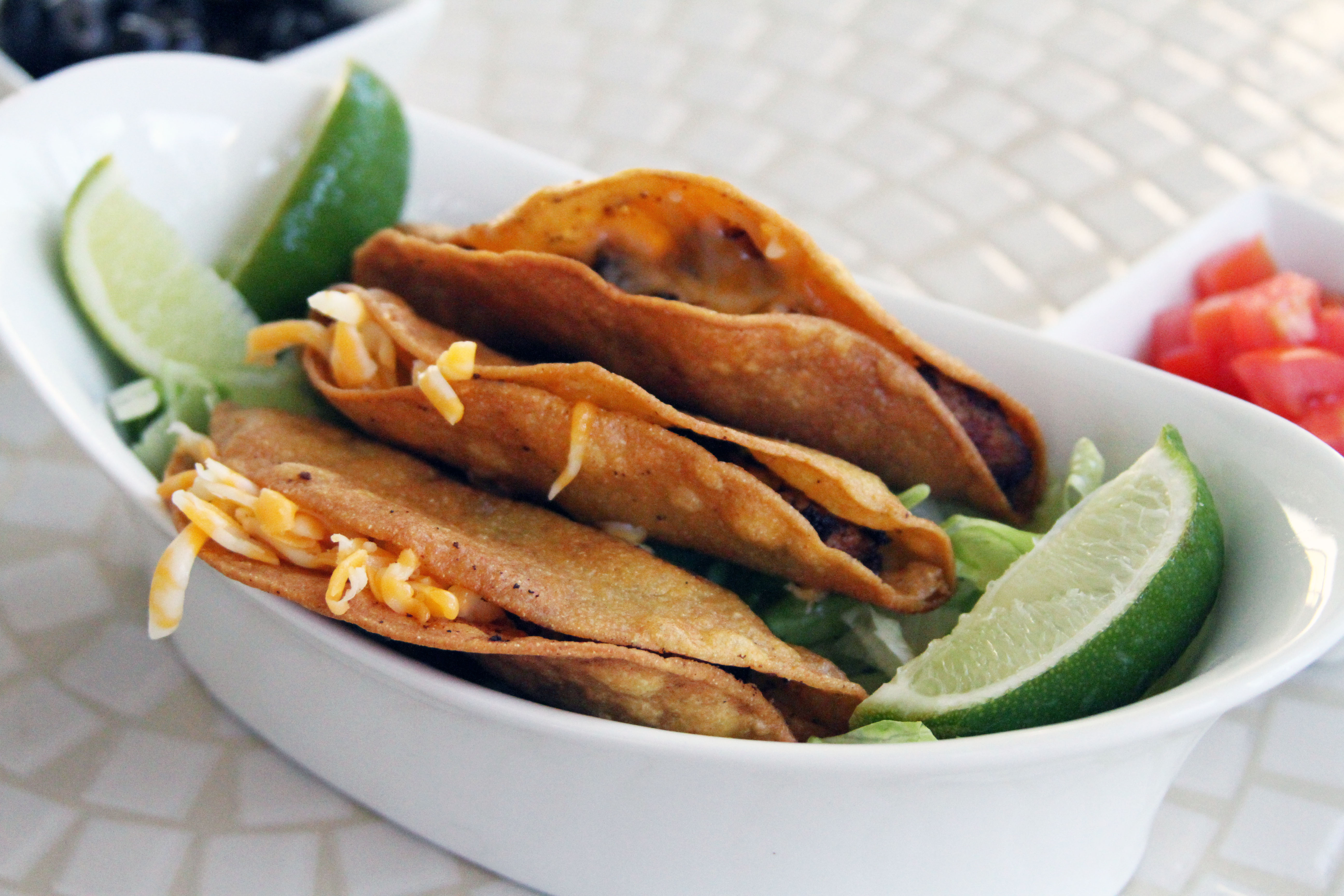 how to make fried chicken tacos