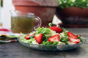 Strawberry-Brie-Salad-with-Poppyseed-Dressing