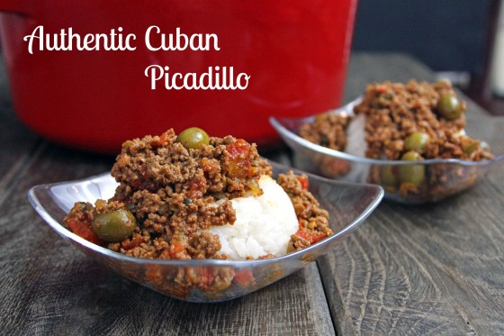 My life as a mrs authentic cuban picadillo for Authentic cuban cuisine