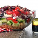 Purple Cafe Greek Salad & a Le Creuset GIVEAWAY!