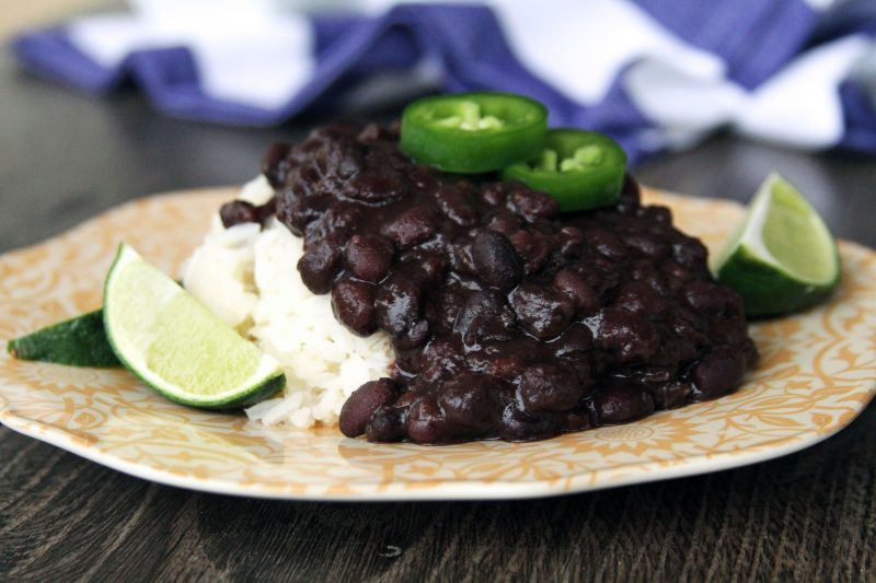 My Life As A Mrs Cuban Black Beans From Scratch
