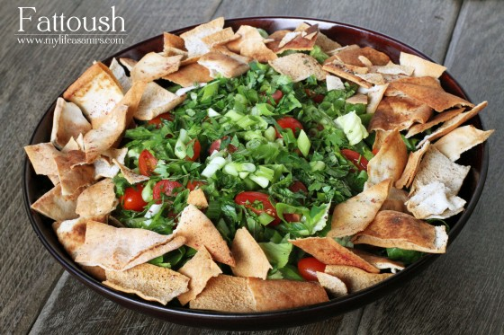 My Life as a Mrs. » Fattoush