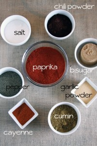 Kickin&#039; BBQ Spice Rub {www.mylifeasamrs.com}