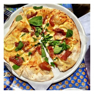 Meyer Lemon Pizza {Corkscrew Cafe}