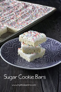 Sugar Cookie Bars {www.mylifeasamrs.com}