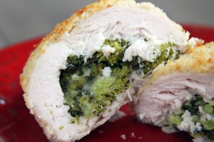 Broccoli &amp; Fontina Stuffed Chicken {My Life as a Mrs}