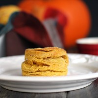 Spiced Pumpkin Biscuits with Maple Butter | My Life as a Mrs