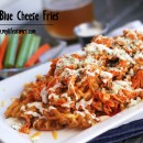 Buffalo Blue Cheese Fries | My Life as a Mrs