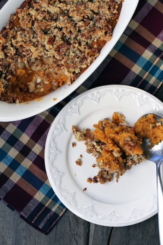My Life as a Mrs. » Mom's Easy Sweet Potato Casserole