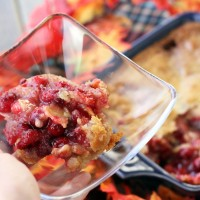 Easy Cranberry Souffle | My Life as a Mrs
