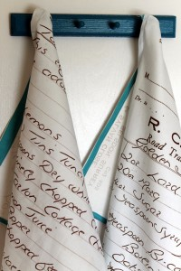 DIY kitchen towels