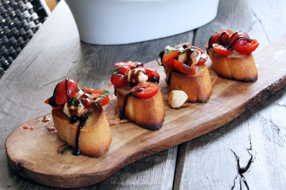 Caprese Bruschetta | My Life as a Mrs