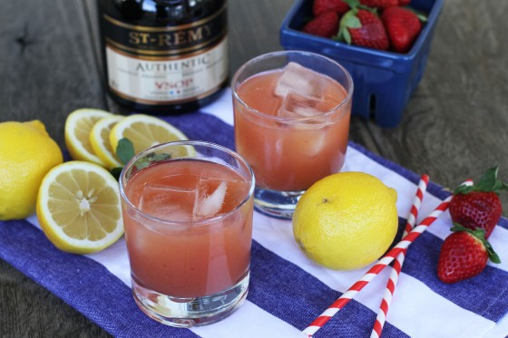 Strawberry Sidecar | My Life as a Mrs