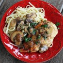 Chicken & Mushroom Picatta | My Life as a Mrs