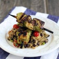 Cilantro Lime Chicken with Southwestern Quinoa Salad | My Life as a Mrs
