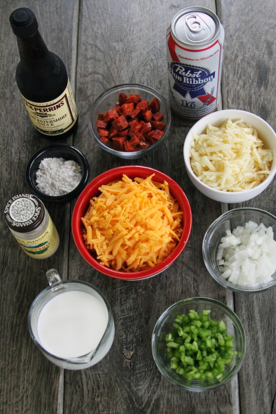 Cheesy Chorizo Beer Dip | My Life as a Mrs