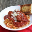 Homestyle Spaghetti & Meatballs by www.mylifeasamrs.com