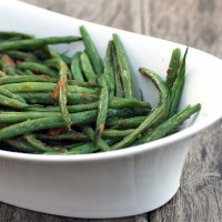 Garlic Ginger Green Beans by My Life as a Mrs