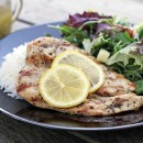 Chicken with Easy Lemon Butter Sauce by www.mylifeasamrs.com