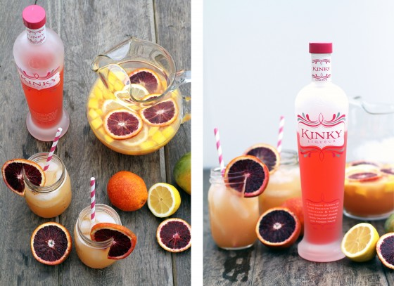 KINKY Mango & Blood Orange Sangria by My Life as a Mrs